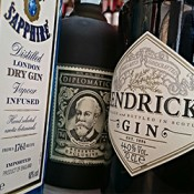 Vermut, gin, bitter