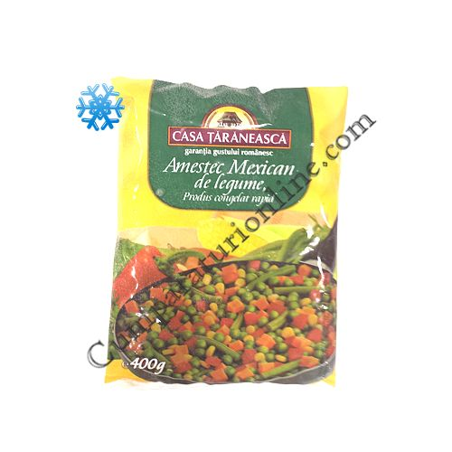 Amestec de legume mexicane Casa Taraneasca 400 gr.