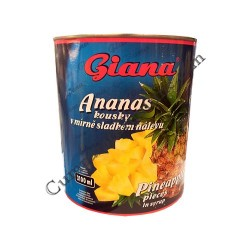 Ananas bucati Giana 3060 gr.