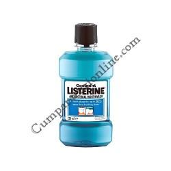Apa de gura Listerine Coolmint 250 ml.