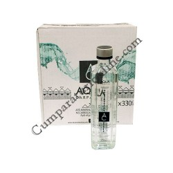 Apa plata Aqua Carpatica sticla 12x0,33l. pret/sticla