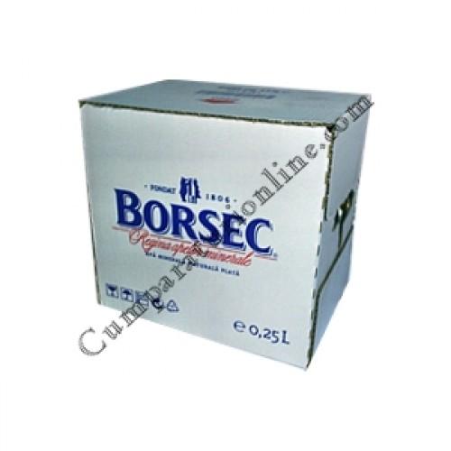 Apa plata Borsec 12x0,33l. sticla pret/buc.