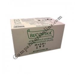 Apa plata Bucovina 24x0,33l. sticla pret/buc.