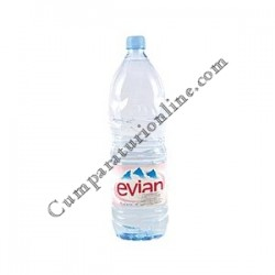 Apa plata Evian 1,5l.