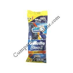 Aparat de ras Gillette Blue II Plus 5 buc.