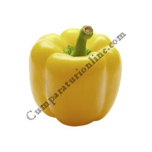 Ardei gras galben California import Olanda pret/kg. - din categoria Legume proaspete (Casa de ...