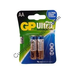 Baterii alkaline GP Ultra Plus LR6 AA 2buc./set pret/buc.