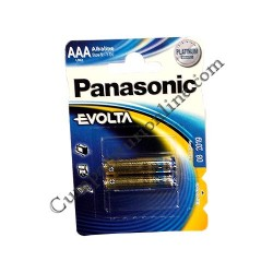 Baterii alkaline Panasonic Evolta LR3 AAA 2buc./set pret/buc.