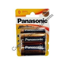 Baterii alkaline Panasonic Power LR20 D 2buc./set pret/buc.
