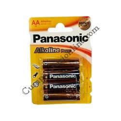 Baterii alkaline Panasonic Power LR6 AA 4buc./set pret/buc.