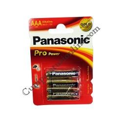 Baterii alkaline Panasonic Pro Power LR3 AAA 4buc./set pret/buc.