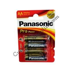 Baterii alkaline Panasonic Pro Power LR6 AA 4buc./set pret/buc.