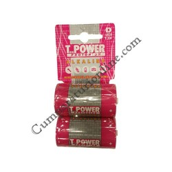 Baterii alkaline T-Power LR20 D 2 buc./set pret/buc.