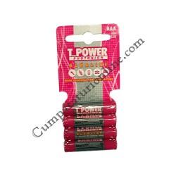 Baterii alkaline T-Power LR3 AAA 4 buc./set pret/buc.