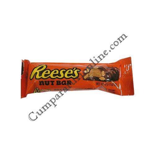 Baton ciocolata cu arahide Reese`s 47 gr.