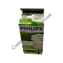 Bec economic spiral Philips 23W E27 lumina calda Tornado