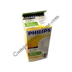 Bec fluorescent Philips 20W E27 T65 lumina calda