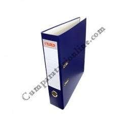 Biblioraft A4 Herlitz PP 8cm. albastru