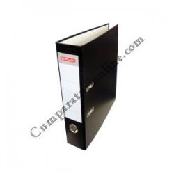 Biblioraft A4 Herlitz PP 8cm. negru