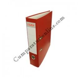 Biblioraft A4 Herlitz PP 8cm. rosu
