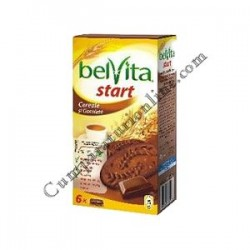 Biscuiti Belvita Start cereale si ciocolata 300 gr.