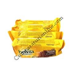 Biscuiti Belvita Start cereale si ciocolata 50 gr.