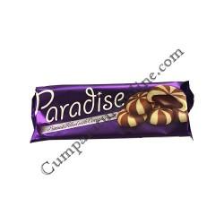 Biscuiti bicolori crema cacao Paradise 60 gr.