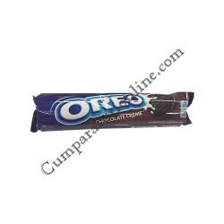 Biscuiti crema ciocolata Oreo 154 gr.