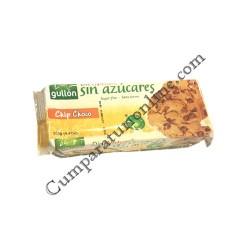 Biscuiti fara zahar Chip Choco Gullon 125 gr.