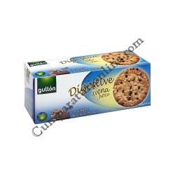 Biscuiti Gullon Digestive cu fulgi de ovaz si ciocolata 425 gr.