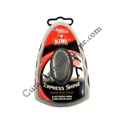Burete silicon Kiwi Express Shine negru