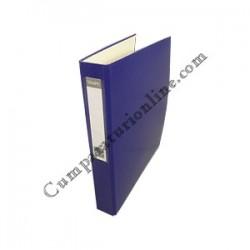 Caiet mecanic A4 VauPe Scriva PP 4 inele 4cm. albastru