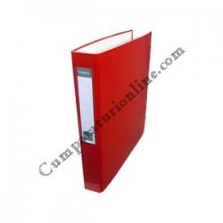 Caiet mecanic A4 VauPe Scriva PP 4 inele 4cm. rosu