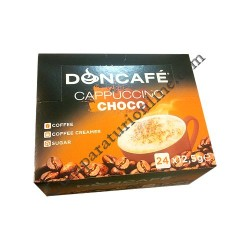 Cappuccino DonCafe ciocolata 24x13 gr.