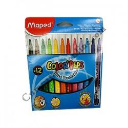 Carioci 12 culori Maped