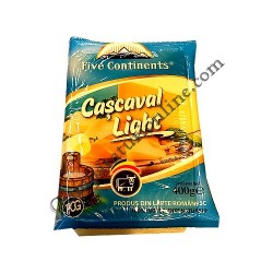 Cascaval Light Five Continents 400 gr.