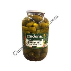 Castraveti in otet 9-12cm Gradena 4150 gr.