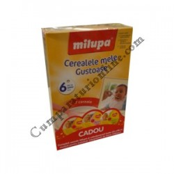 Cereale 7 fructe lapte Milupa 250 gr.