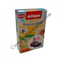Cereale crocante cu fructe Buna dimineata Milupa 250 gr.