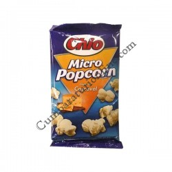 Chio popcorn microunde 80 gr. cascaval