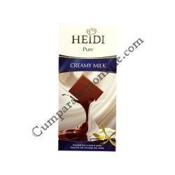 Ciocolata cu lapte Heidi Pure 80 gr.