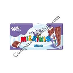 Ciocolata cu lapte Milka Milkinis 87,5 gr.