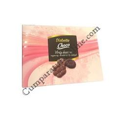 Ciocolata cu lapte si amaruie cu fructoza Diabette Desert 84 gr.