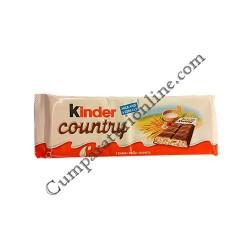 Ciocolata Kinder Country cu cereale T6 141 gr.