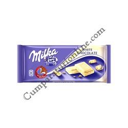 Ciocolata Milka alba 100 gr.