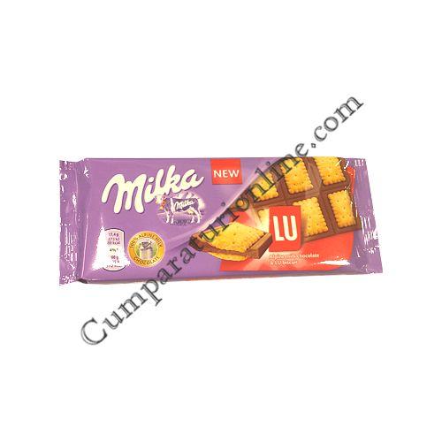 Ciocolata Milka cu LU 87 gr.