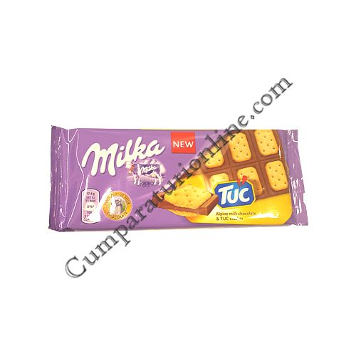 Ciocolata Milka cu Tuc 87 gr.
