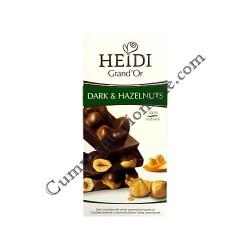Ciocolata neagra Heidi Grand`Or 100 gr. alune