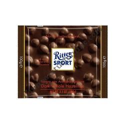 Ciocolata Ritter Sport amaruie cu alune 100 gr.