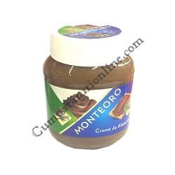 Crema de alune cu cacao fara zaharuri Monteoro 350 gr.